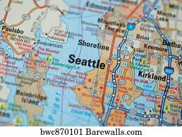 6076 Highway map Posters and Art Prints Barewalls