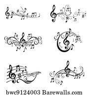 213,093 Music symbols Posters and Art Prints | Barewalls