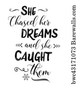 10 904 Catch Your Dreams Posters And Art Prints Barewalls