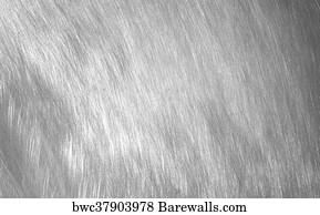 Sheet Metal Silver Solid Black Background Art Print Barewalls