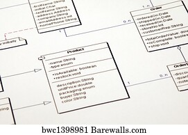3060 software architecture posters and art prints barewalls software architecture art print poster software architecture class diagram ccuart Images