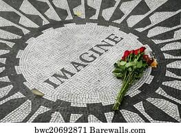 Imagine John Lennon Art Print Poster