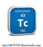 Art print of technetium form periodic table of elements v2 art print poster technetium material sign technetium material on the periodic table urtaz Images