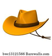 a89addcabd2 Ten Gallon Hat Art Print Poster - Ten-Gallon Hat