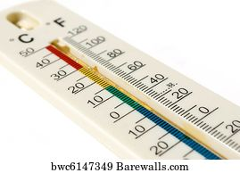 6 348 celsius and fahrenheit thermometer posters and art prints