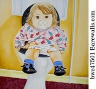 Dunny Door Art Print Poster - Toilet Training & 11 Dunny door Posters and Art Prints | Barewalls