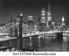 2204428 architecture posters and art prints barewalls architecture art print poster top view brooklyn bridge malvernweather Gallery