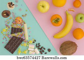 131 Healthy vs junk Posters and Art Prints | Barewalls