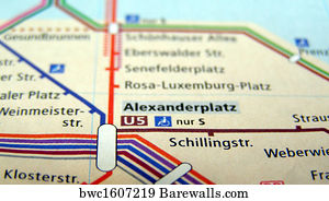 Berlin Subway Map Poster.1 216 Subway Map Posters And Art Prints Barewalls