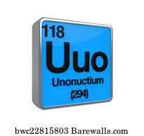 30 uuo posters and art prints barewalls uuo art print poster unonuctium element periodic table urtaz Choice Image
