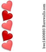 52 689 valentine border posters and art prints barewalls