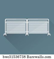 138 Crowd control barriers Posters and Art Prints | Barewalls