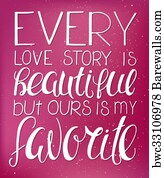 43 Our Love Story Posters And Art Prints Barewalls