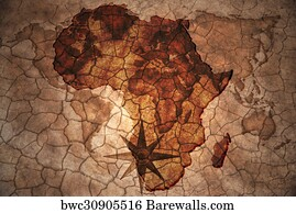 52454 Maps africa Posters and Art Prints Barewalls
