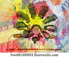 160 Radial aircraft engine Posters and Art Prints | Barewalls
