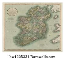 Map Of Ireland Poster.5 664 Map Of Ireland Posters And Art Prints Barewalls