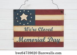 photo relating to Closed for Memorial Day Printable Sign titled 6,193 Memorial working day phrases Posters and Artwork Prints Barewalls