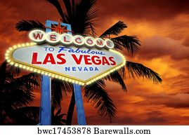 Welcome To Las Vegas Art Print Barewalls Posters