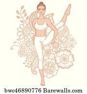 Bird Of Paradise Yoga Pose 1