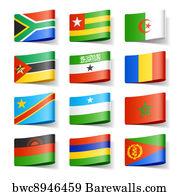 1,992 Congo democratic republic flag Posters and Art Prints