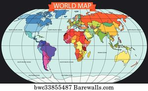 18 gloge posters and art prints barewalls gloge art print poster world map infographic template all countries are selectable publicscrutiny Images