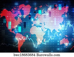 4785 worldwide world market posters and art prints barewalls worldwide world market art print poster world map stock market background gumiabroncs Image collections