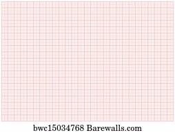 art print of xxl blank millimeter paper barewalls posters prints